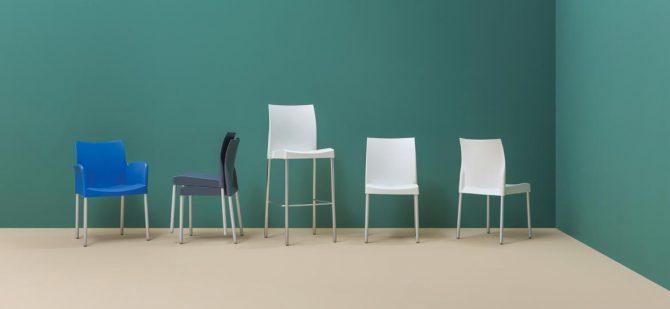 Ergonomski stoli_pedrali_barvni stoli_jedilni stoli_kuhinjski stoli_moderni stoli_plastični stoli