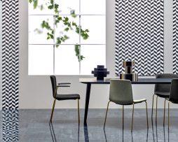 kuhinjski stoli_tapicirani stoli
