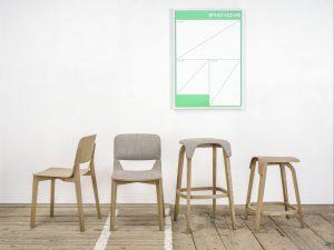 Stol Leaf_Thonet design_Showroom